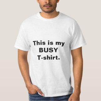 """La camiseta de la """"camiseta ocupada"""" de los"""