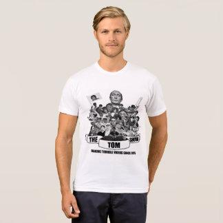 La camiseta de la demostración de Tom (para