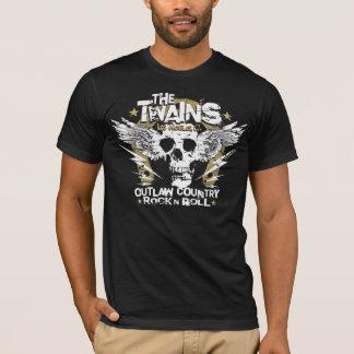 ¡La camiseta de la herradura del n del cráneo de