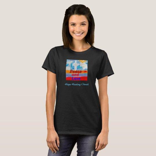 La camiseta de la iglesia de la esperanza de la