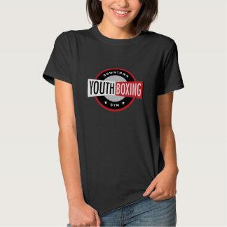 La camiseta de la juventud del boxeo de las