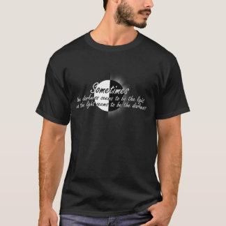 La camiseta de la luz/de la paradoja de la