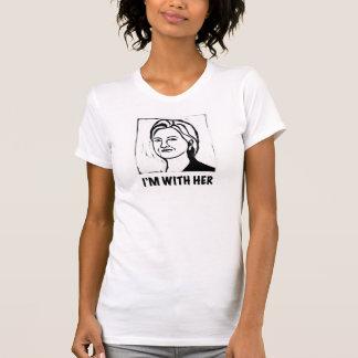 La camiseta de la mujer de Hillary Clinton