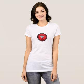 la camiseta de la mujer de la ESPECIA del empollón