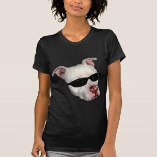 La camiseta de la mujer de Pitbull