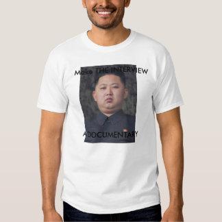 La camiseta de la O.N.U de Kim Jong de la
