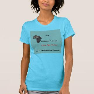 La camiseta de la turquesa de la confianza de