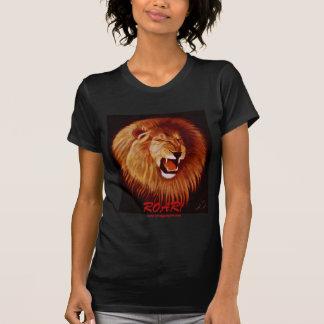 ¡La camiseta de Ladie del león del rugido!