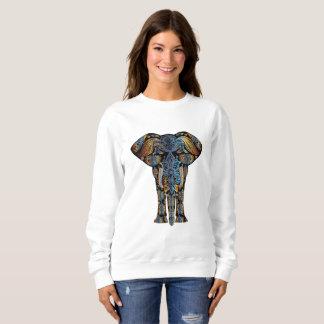 La camiseta de las mujeres aztecas del elefante