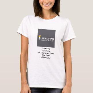La camiseta de las mujeres básicas del comité