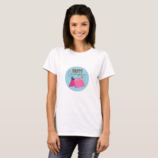 La camiseta de las mujeres bohemias de la tienda