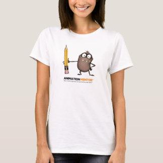 La camiseta de las mujeres clásicas del punto -