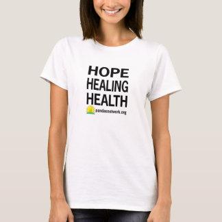 La camiseta de las mujeres curativas de la salud