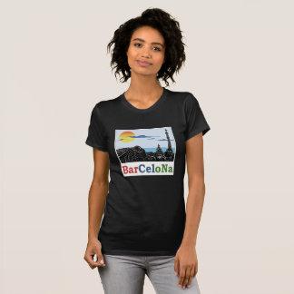 La camiseta de las mujeres de Barcelona