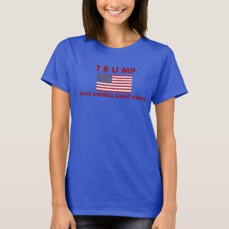 La camiseta de las mujeres de Donald Trump con la