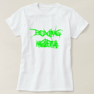 La camiseta de las mujeres de Helena del boxeo