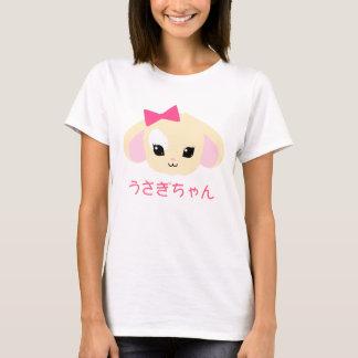 La camiseta de las mujeres de Kawaii Usagi-chan