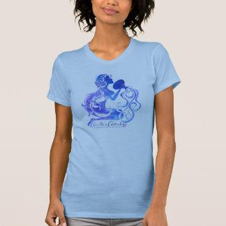 La camiseta de las mujeres de la astrología del