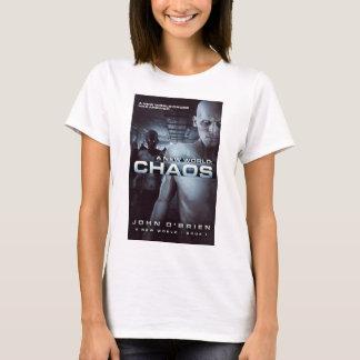La camiseta de las mujeres de la cubierta del caos