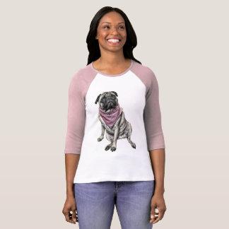 La camiseta de las mujeres de la imagen del perro