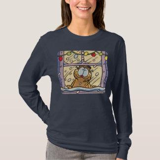 La camiseta de las mujeres de la Nochebuena de