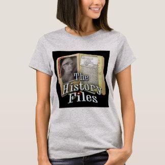 La camiseta de las mujeres de los ficheros de