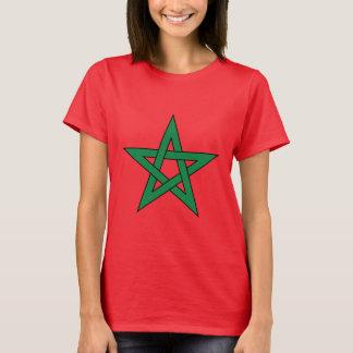 La camiseta de las mujeres de Marruecos