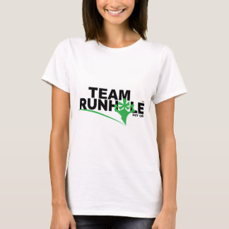 La camiseta de las mujeres de Runhole