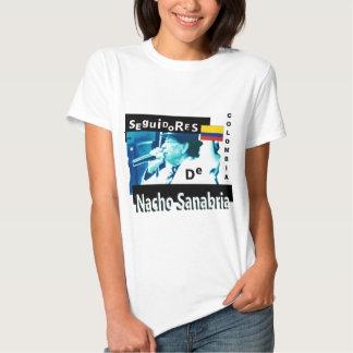 La camiseta de las mujeres de Seguidores de Nacho