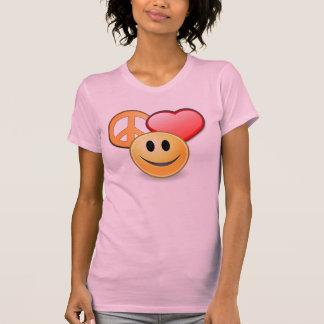 La camiseta de las mujeres del amor y de la