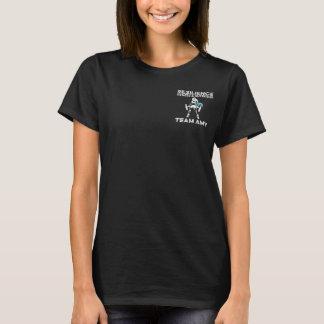 La camiseta de las mujeres del Amy del equipo