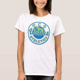 La camiseta de las mujeres del atletismo de los