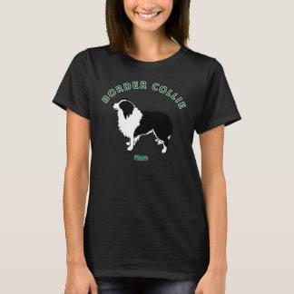 La camiseta de las mujeres del border collie