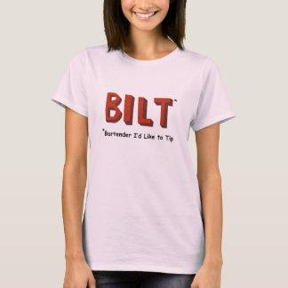 La camiseta de las mujeres del camarero de BILT