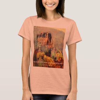 La camiseta de las mujeres del castillo del cuento