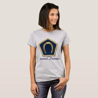 La camiseta de las mujeres del descendiente de