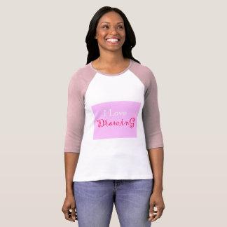 La camiseta de las mujeres del dibujo