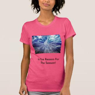 La camiseta de las mujeres del navidad