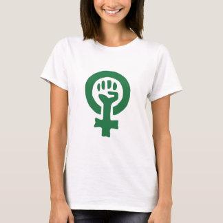 La camiseta de las mujeres del poder de la mujer