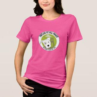 La camiseta de las mujeres del proyecto del