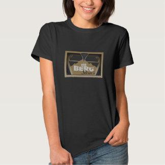 La camiseta de las mujeres delgadas del iceberg -