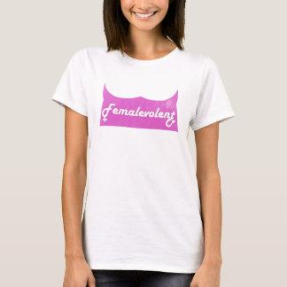 La camiseta de las mujeres divertidas de