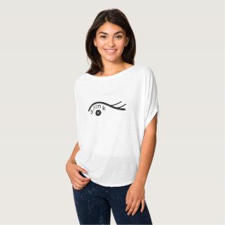 La camiseta de las mujeres modernas del diseño