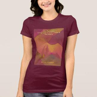 La camiseta de las mujeres: Ningún arte de la