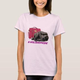 la camiseta de las señoras del modo del día de