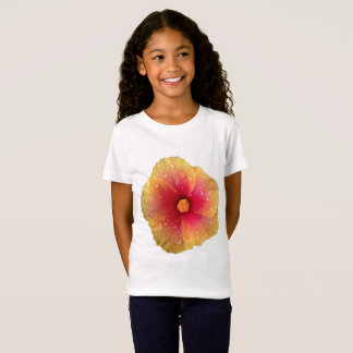 La camiseta de los chicas del hibisco