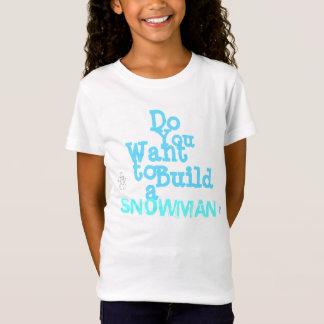 """La camiseta de los chicas del """"muñeco de nieve"""""""