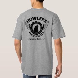 La camiseta de los hombres altos del chillón