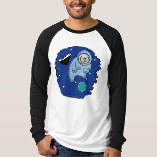 La camiseta de los hombres Astro-Tardígrados