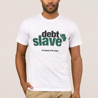 La camiseta de los hombres auxiliares de la deuda